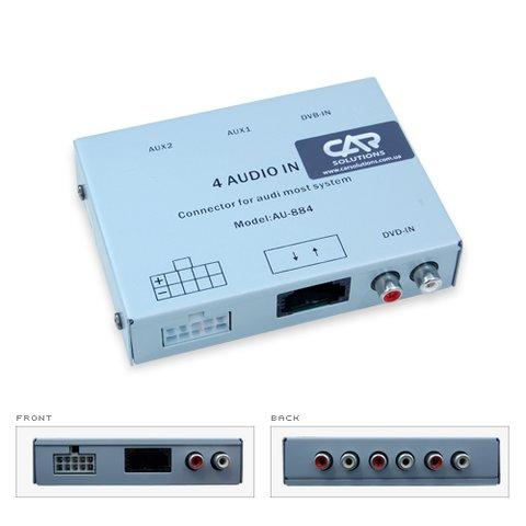 Аудиоинтерфейс MOST для Audi Q7 A8 A6