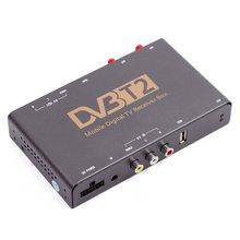 Автомобильный цифровой тюнер DVB T2 HEVC с видеовходом - Короткий опис