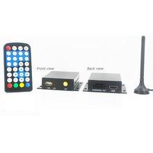 Car Digital MPEG4 DVB T TV Receiver DVB T7000 - Short description