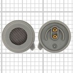 Microphone compatible with Siemens A50, A51, A52, A53, A55, A56, A57, A60, A62, A65, A70, A71, A75, A76, C45, C55, C56, C60, C61, CT56, M50, M55, M56, MC60, ME45, S45, S55, S56, S57, SX1