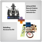 Infrared BGA Rework Station Jovy Systems Jetronix-Eco + Reballing Accessories Kit