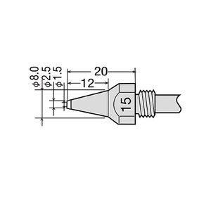 Desoldering Tip GOOT TP-100N-15