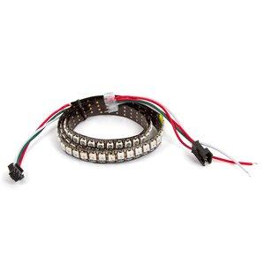 RGB LED Strip SMD5050, WS2812B (with controls, IP67, 144 LEDs/m, 1 m)