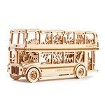 Mechanical 3D Puzzle Wooden.City London Bus