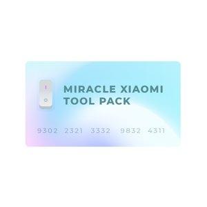 Miracle Xiaomi Tool Pack (únicamente para propietarios de dongles Miracle)