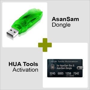 AsanSam Донгл и Активация HUA Tools