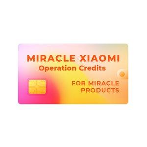 Кредиты Miracle Xiaomi (только для обладателей донглов Miracle)