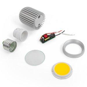 Комплект для сборки светодиодной лампы TN-A44 7 Вт (холодный белый, E27)