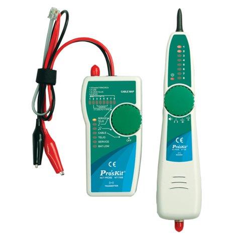 Тестер телекомунікаційних мереж і ліній передачі даних Pro'sKit MT 7068