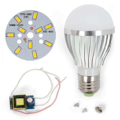 Комплект для збирання світлодіодної лампи SQ Q02 5730 5 Вт теплий білий, E27