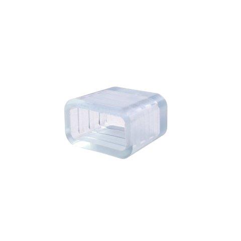 Заглушка для LED стрічок Дюралайт Duralight  IP67 силікон, 13×7 мм
