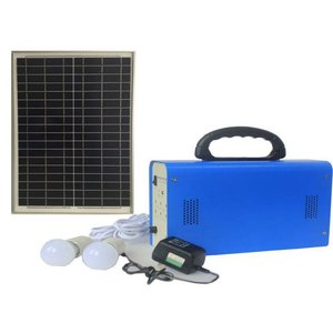 DC Portable Solar Power System, 30 W, 12 V / 18 Ah, Poly 18 V / 30 W